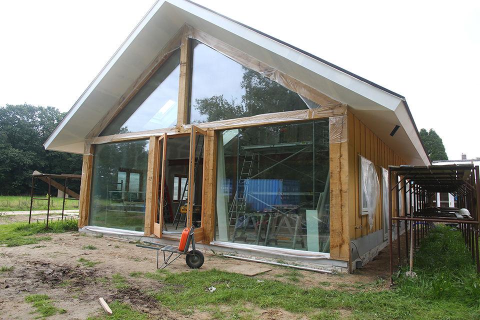 Nieuwbouw houtskelet woning foto 1 - Schotman Restauraties