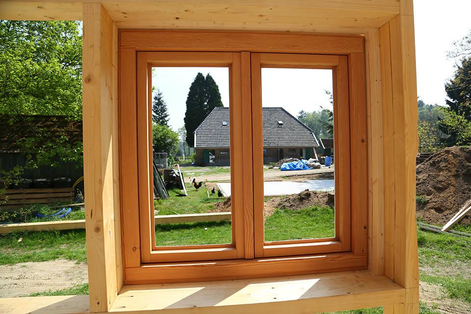 Nieuwbouw houtskelet woning foto 10 - Schotman Restauraties