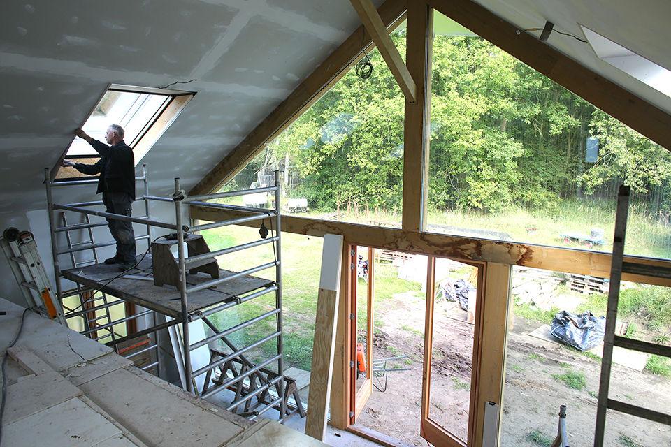 Nieuwbouw houtskelet woning foto 4 - Schotman Restauraties
