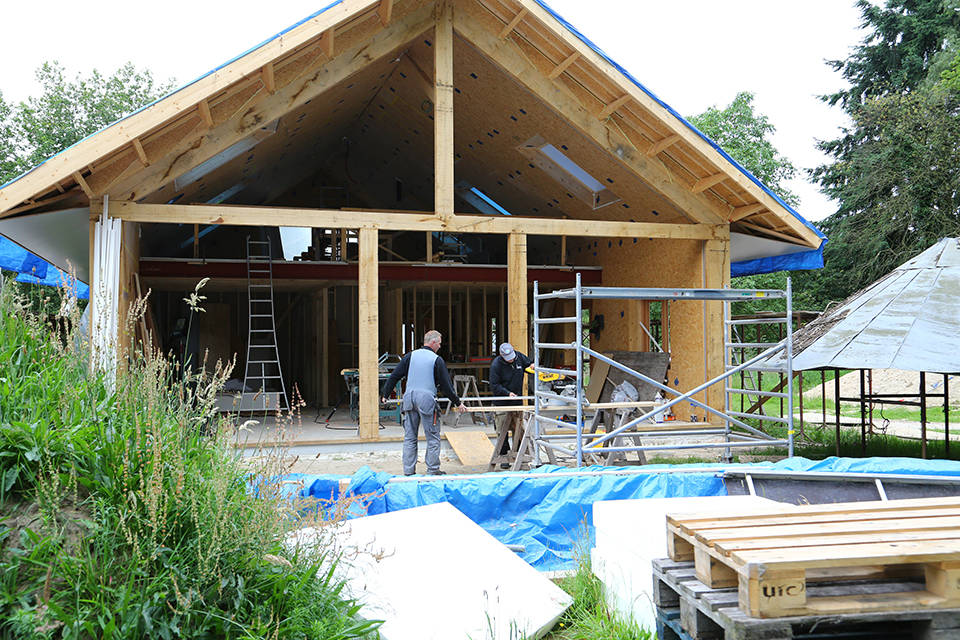 Nieuwbouw houtskelet woning foto 7 - Schotman Restauraties