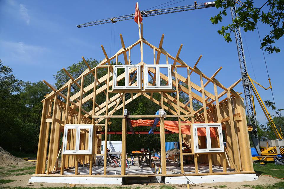 Nieuwbouw houtskelet woning foto 8 - Schotman Restauraties
