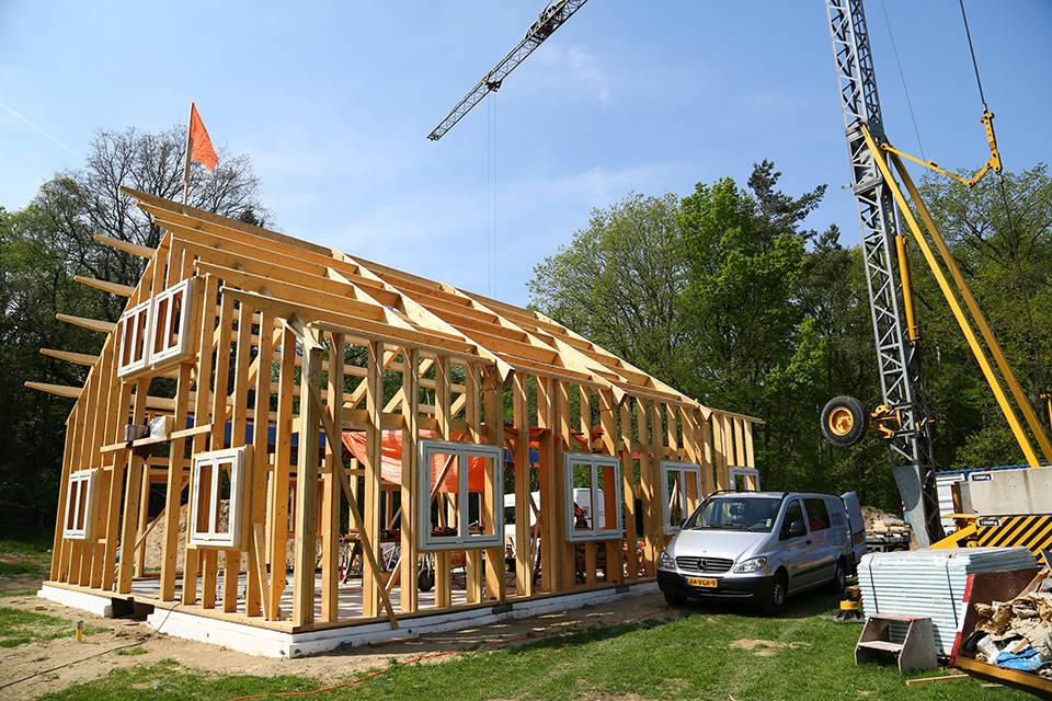 Nieuwbouw houtskelet woning foto 9 - Schotman Restauraties